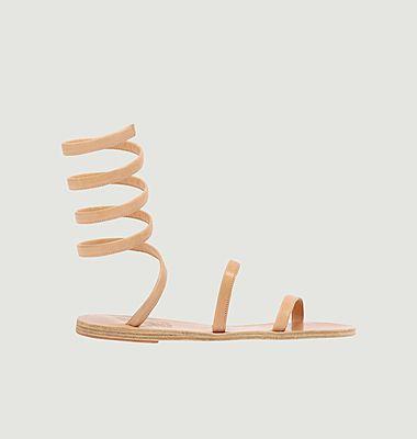 Sandales en cuir nappa Ofis