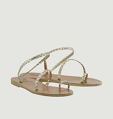 Sandales tressées Eleftheria