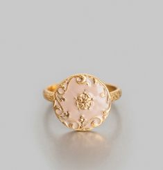 Porcelain Round Ring