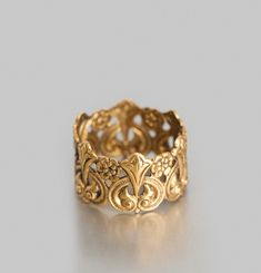 Chiselled Ring