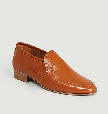 Leo leather loafers