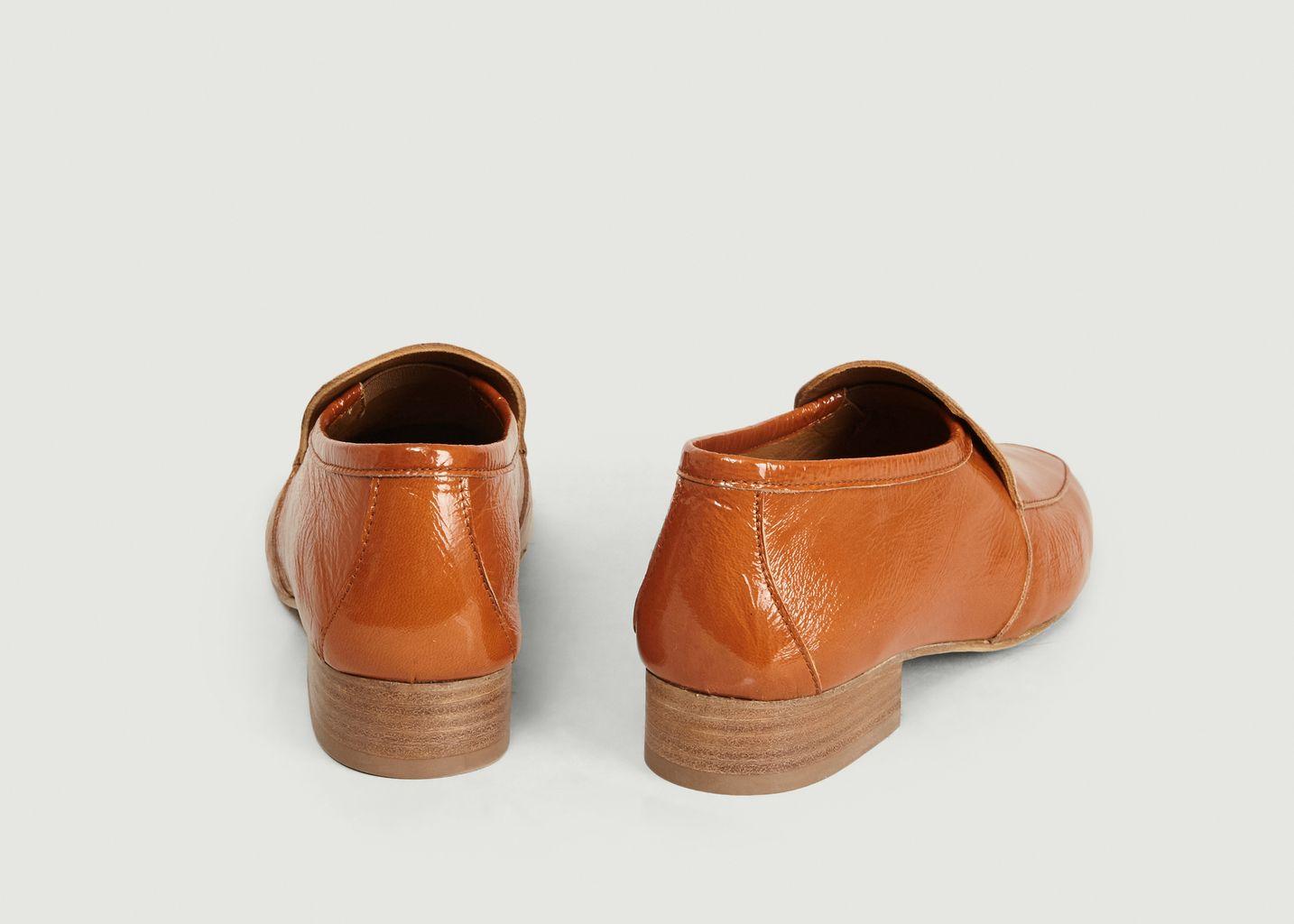 Mocassins en cuir Leo - Anne Thomas Chaussures