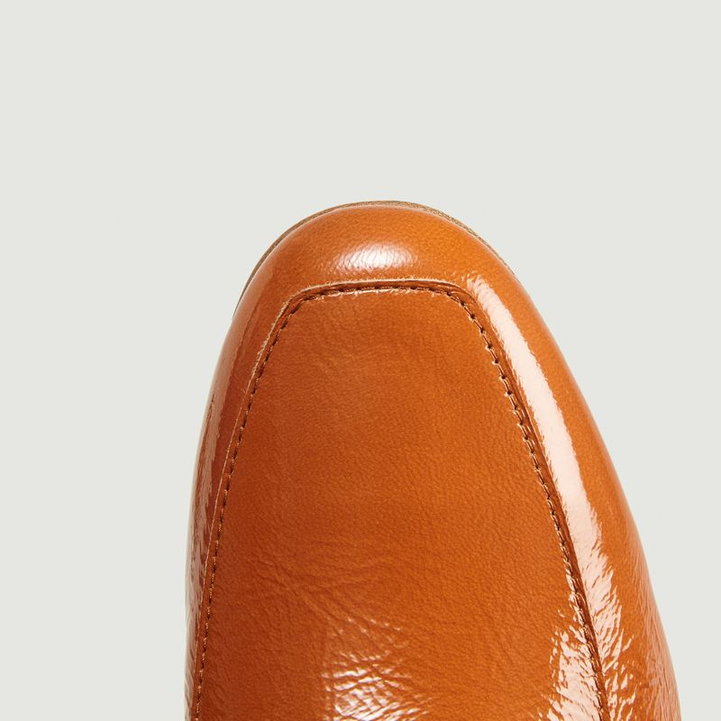 Leo leather loafers - Anne Thomas Chaussures