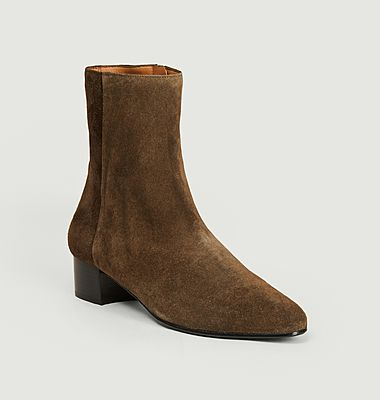 Michèle suede leather boots