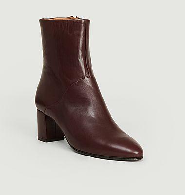 Boots en cuir Mimo
