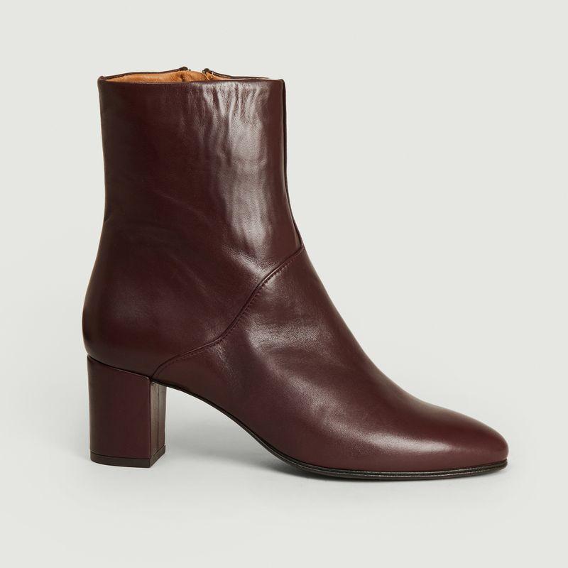 Boots en cuir - Anne Thomas Chaussures
