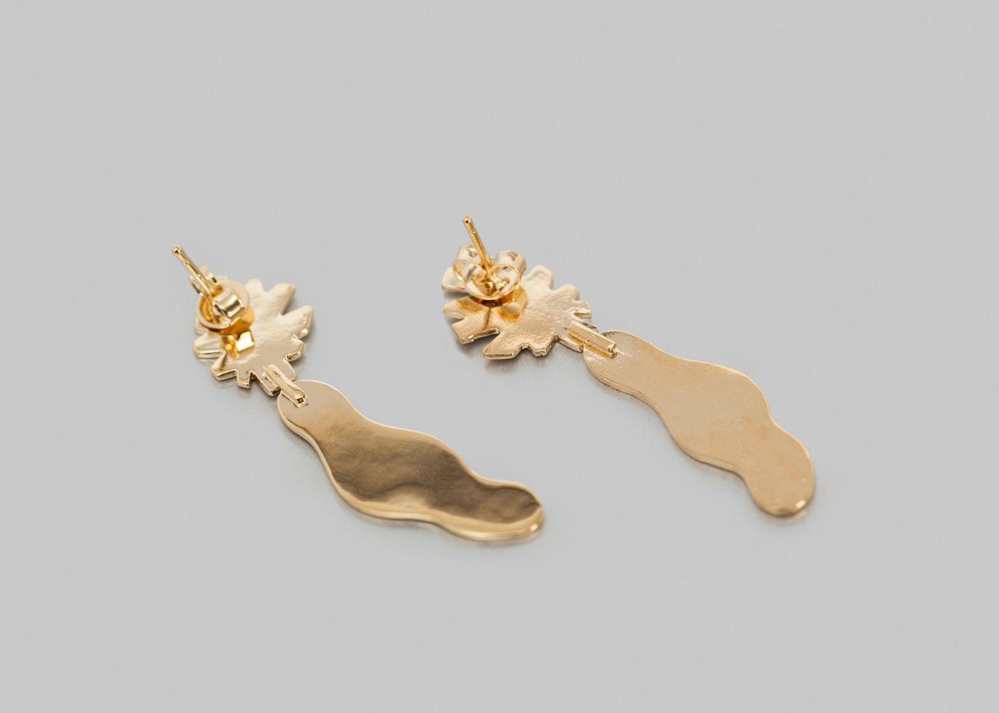 Boucles d'Oreilles Lydia - Anne Thomas Bijoux