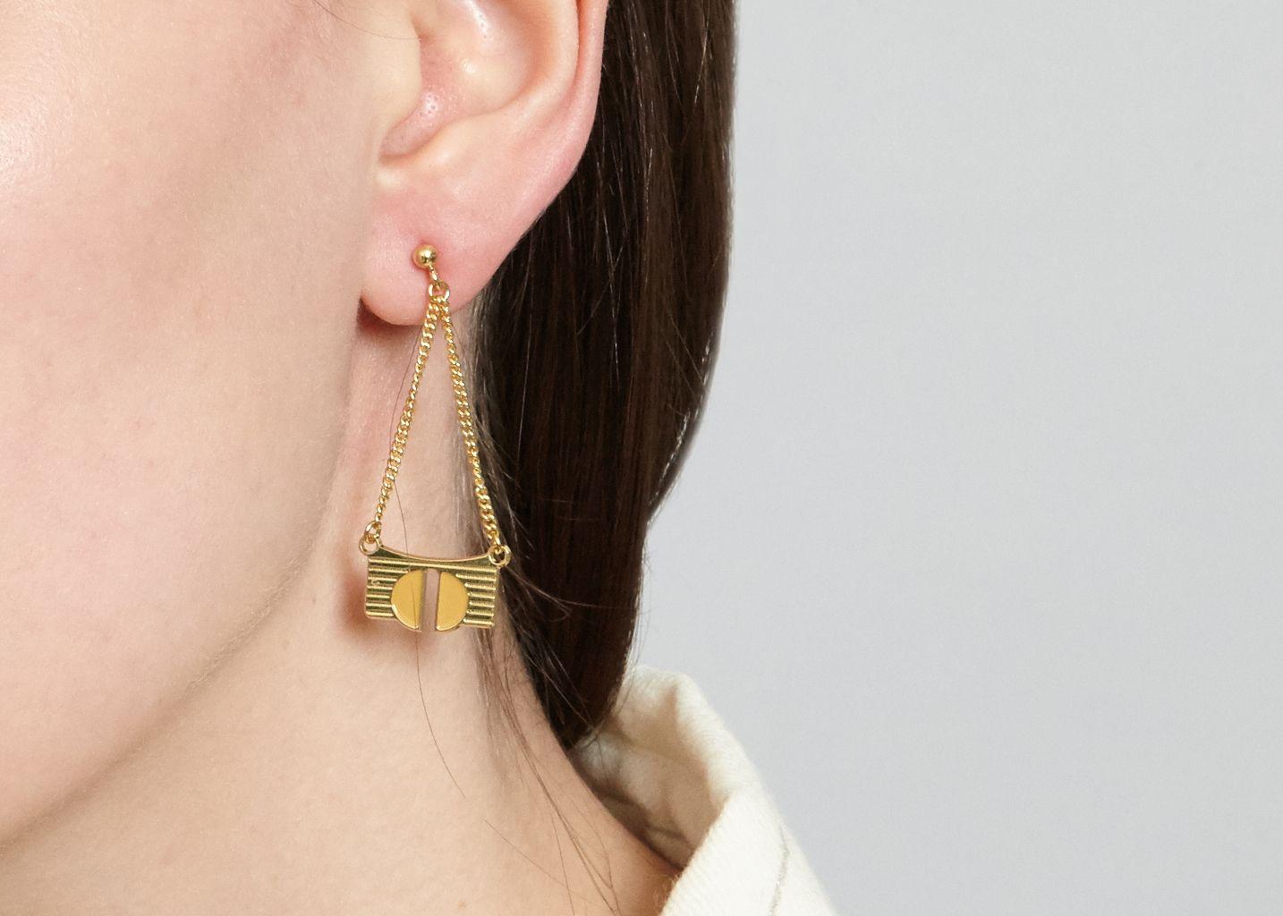 Boucles d'Oreilles Bianca - Anne Thomas Bijoux