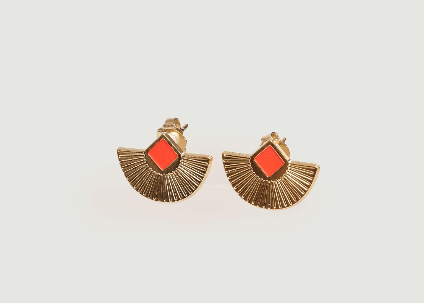 Boucles d'Oreilles Tiges Cuzco - Anne Thomas Bijoux