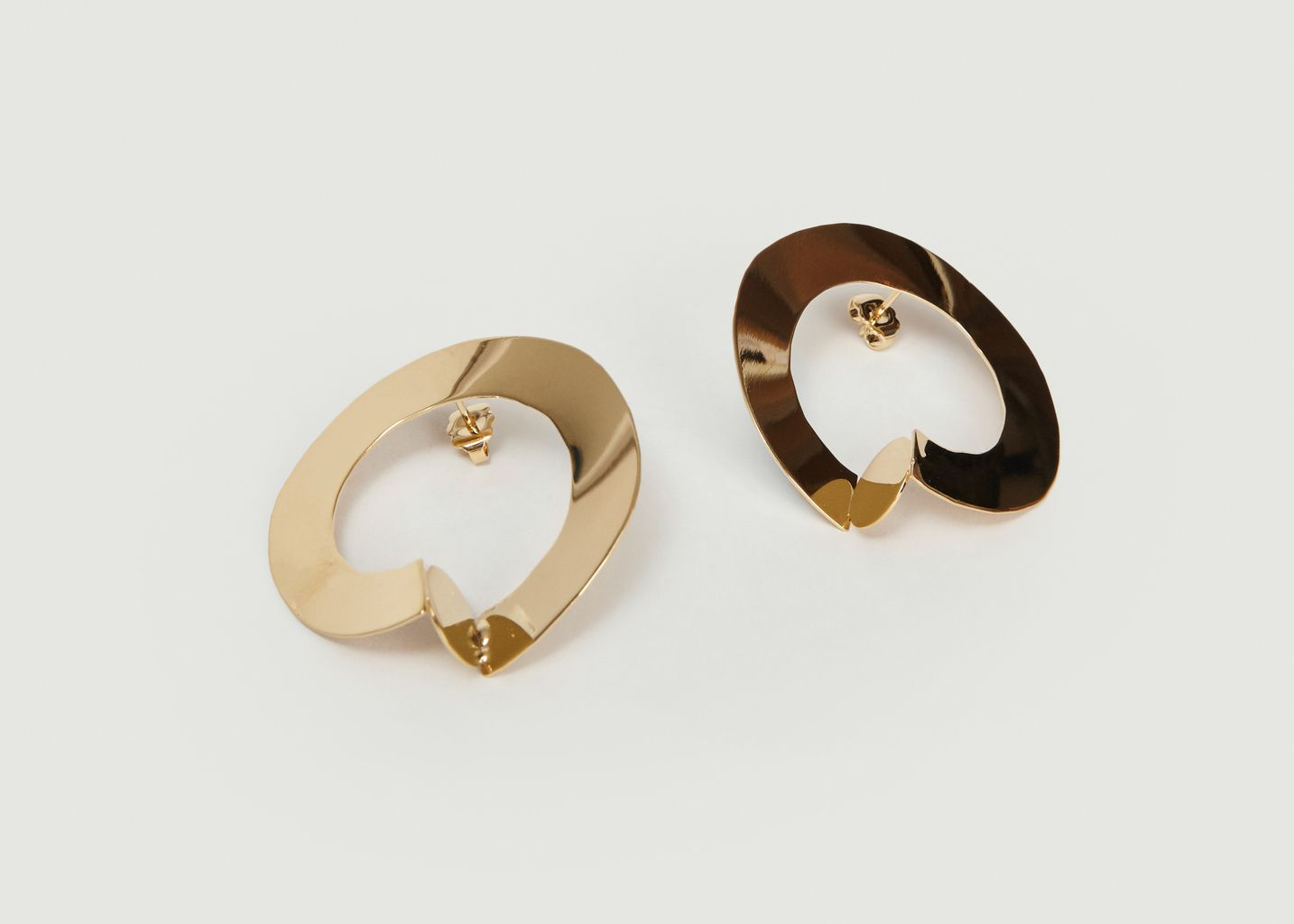 Boucles d'Oreilles Oro Boro - Anne Thomas Bijoux