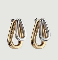 Double Ellipse Earrings