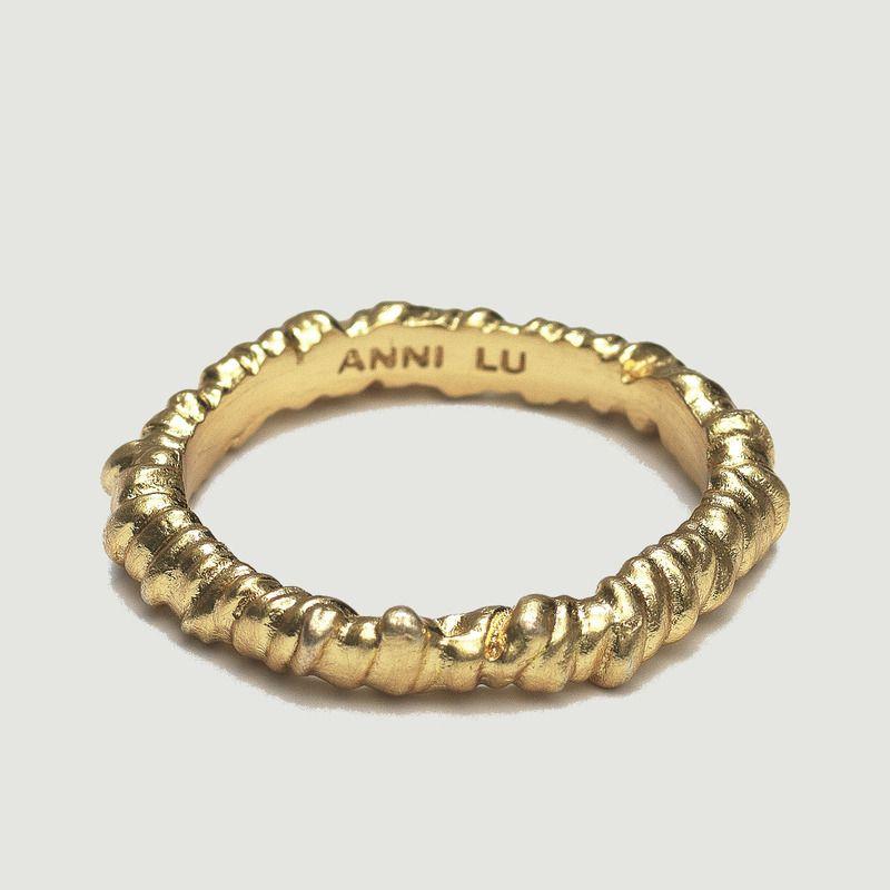 Bague anneau texturé - Anni Lu