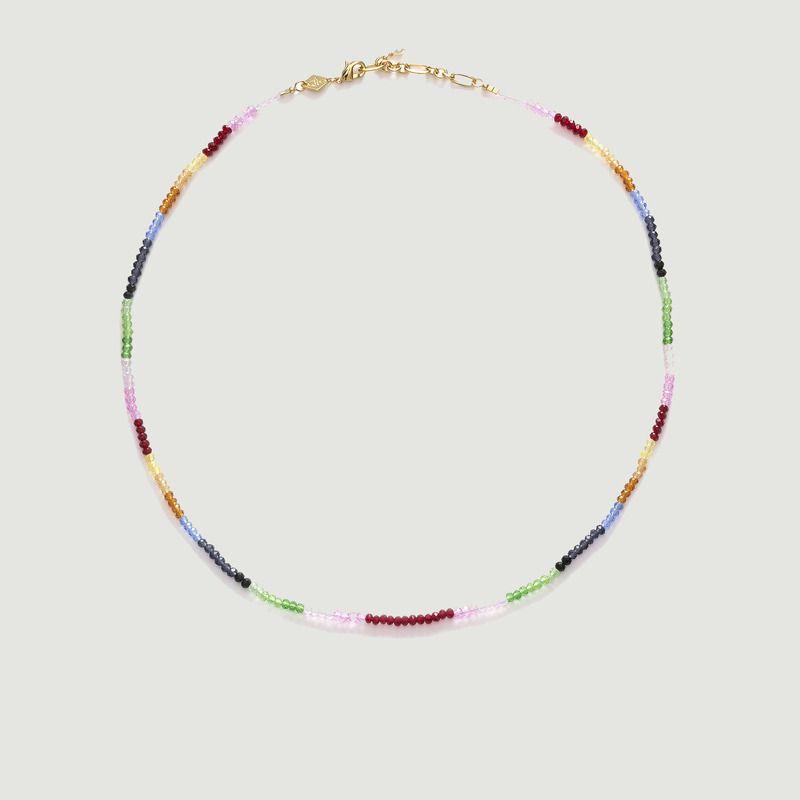 Collier arc-en-ciel en perles - Anni Lu