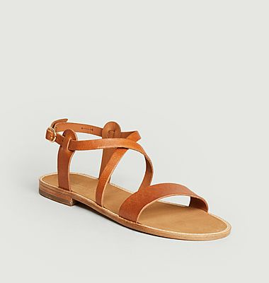 Sandales en cuir Beryl
