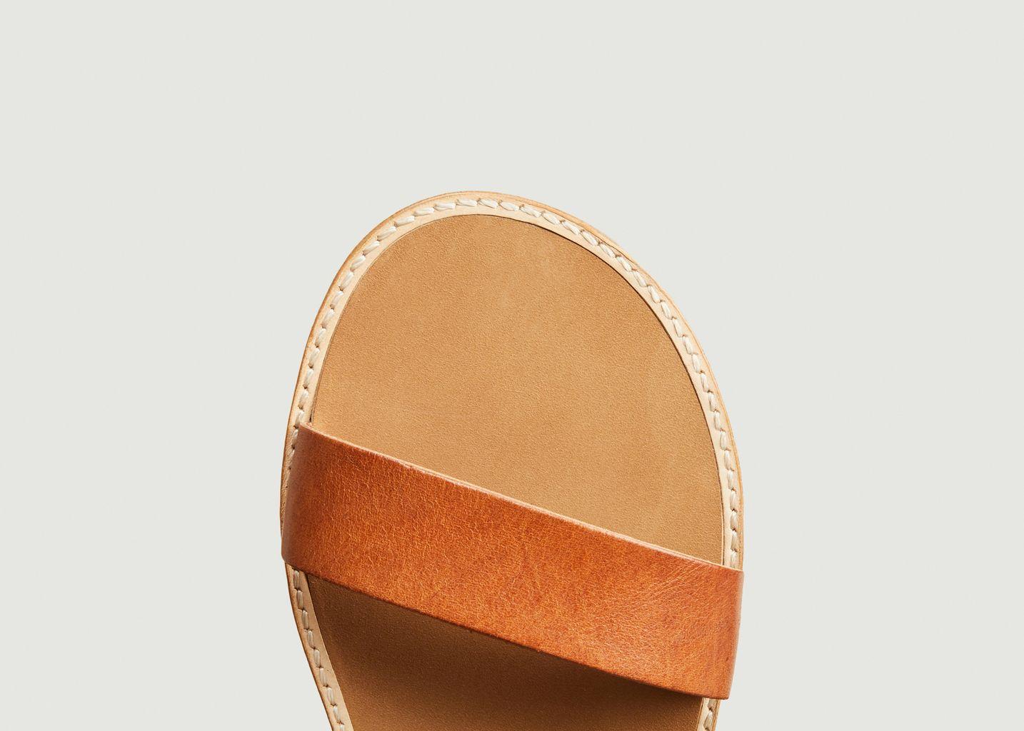 Sandales en cuir Beryl - Anthology Paris