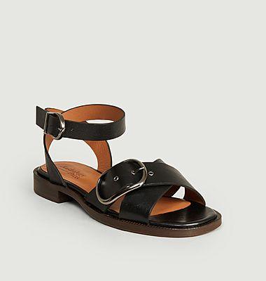 Sandales en cuir Renata
