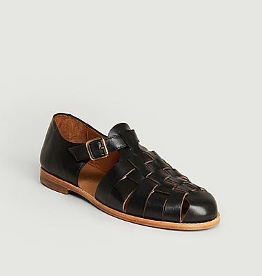 Baiko leather sandals