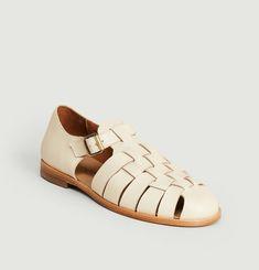 Sandales en cuir Baiko