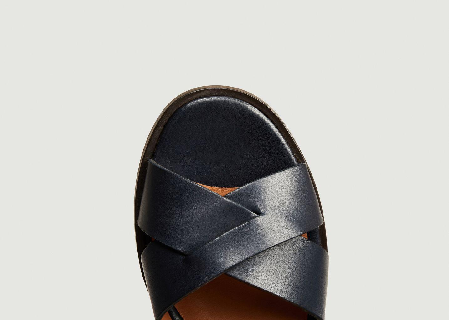 Sandales en cuir Denver - Anthology Paris