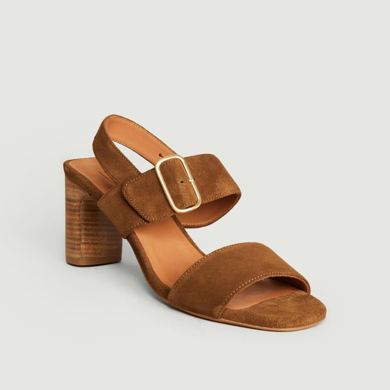 Ydriss suede leather sandals - Anthology Paris