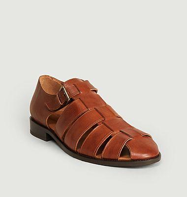Sandales en cuir Patras
