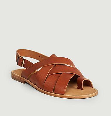 Sandales en cuir Banjul