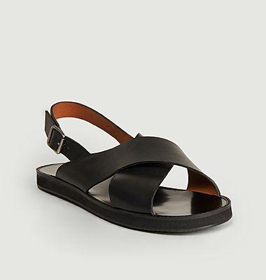 Sandales en cuir Birmanie