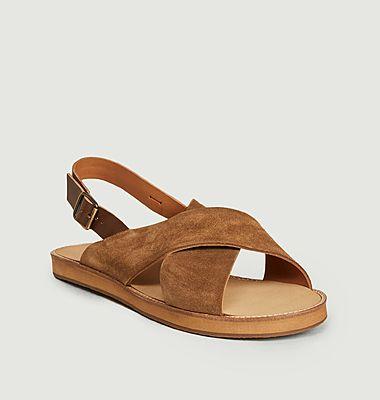 Sandales en daim Birmanie