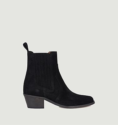 Boots en daim Sofia