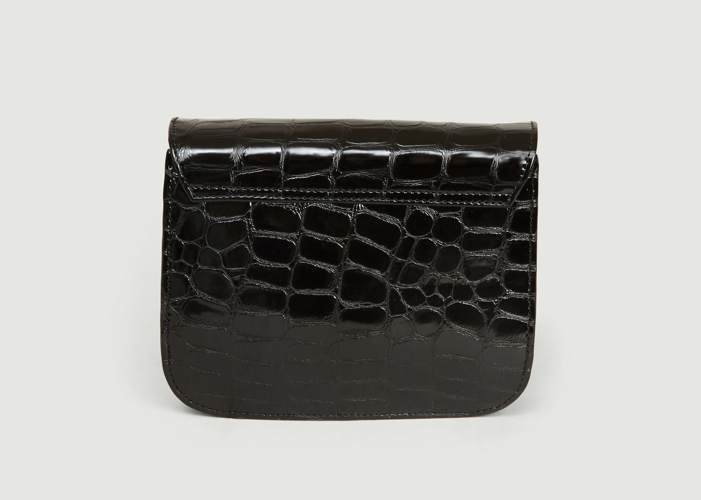 Sac En Cuir Façon Croco Prague - Anthology Paris