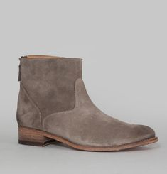 Bottines Daim