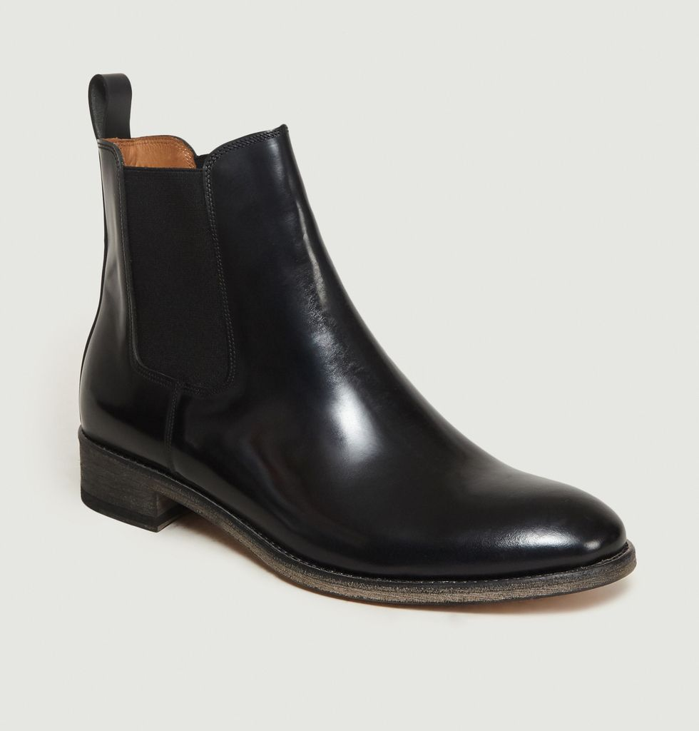 bottines chelsea cuir by anthology