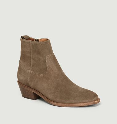Bottines En Daim Winona