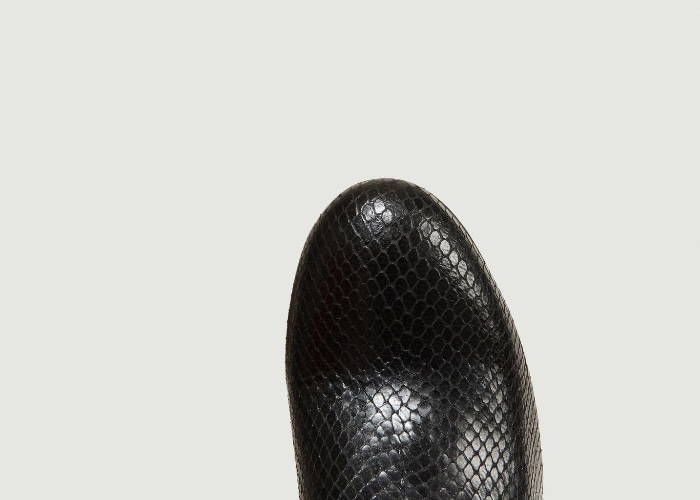 Bottines Gina Façon Python - Anthology Paris