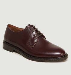 Smooth Leather Derbies