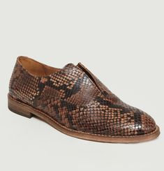 Derbies Elvie Façon Python