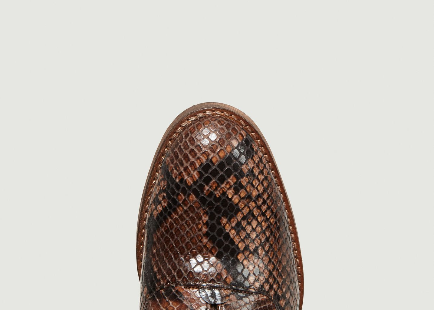 Derbies Elvie Façon Python - Anthology Paris