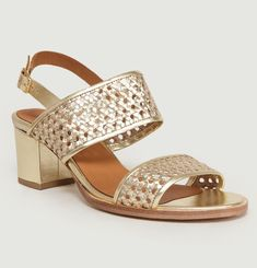 Vita Woven Leather Sandals