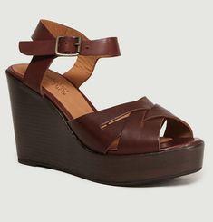 Barcelona Princesse Leather Wedges