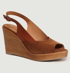 Tessa Suede Sandals