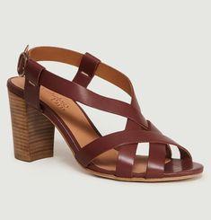 Sandales En Cuir Alesia Princesse