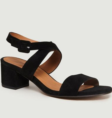 Sandales En Daim Ursula