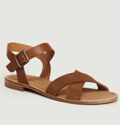 Bale Leather & Suede Sandals