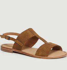 Sandales En Daim Barbès