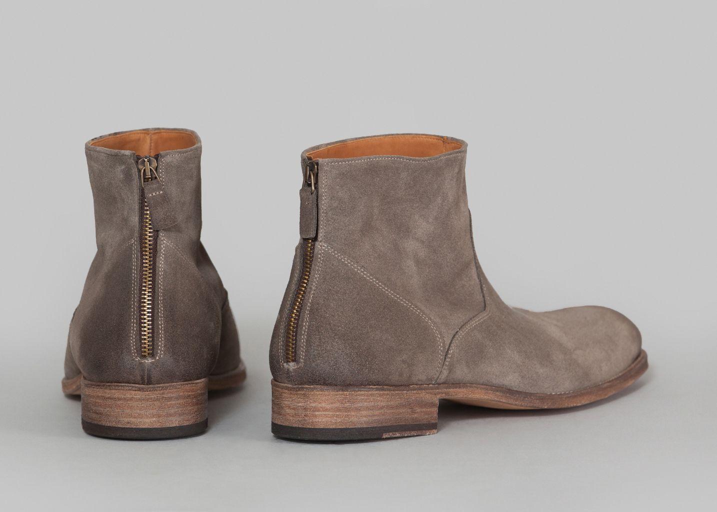 Suede Boots 6834 - Anthology Paris