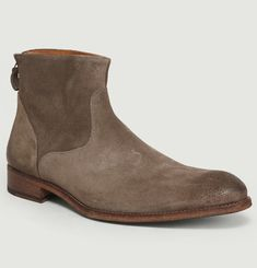 Suede Boots 6834