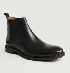 Chelsea Boots Cuir Lisse 7275