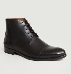 7282 Leather Boots