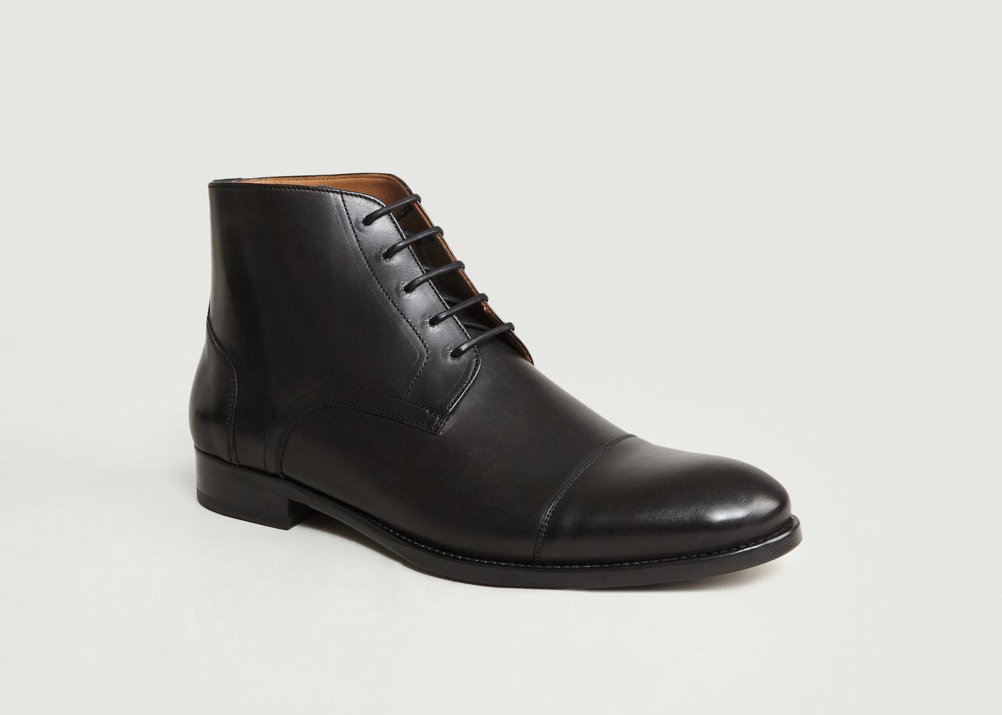 Boots 7282 Cuir Lisse - Anthology Paris