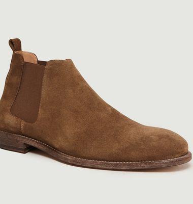 Chelsea Boots En Daim